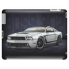 2012 White Mustang Boss 302 Tablet (horizontal)