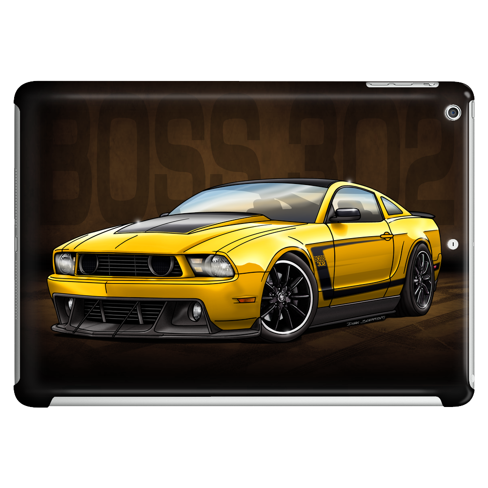 2012 Yellow Boss 302 Tablet (horizontal)