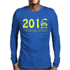 2016 Year Of The Monkey Mens Long Sleeve T-Shirt