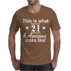 21st Birthday Mens T-Shirt