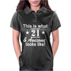 21st Birthday Womens Polo