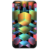 3-D Cube with Colorful Elements Phone Case