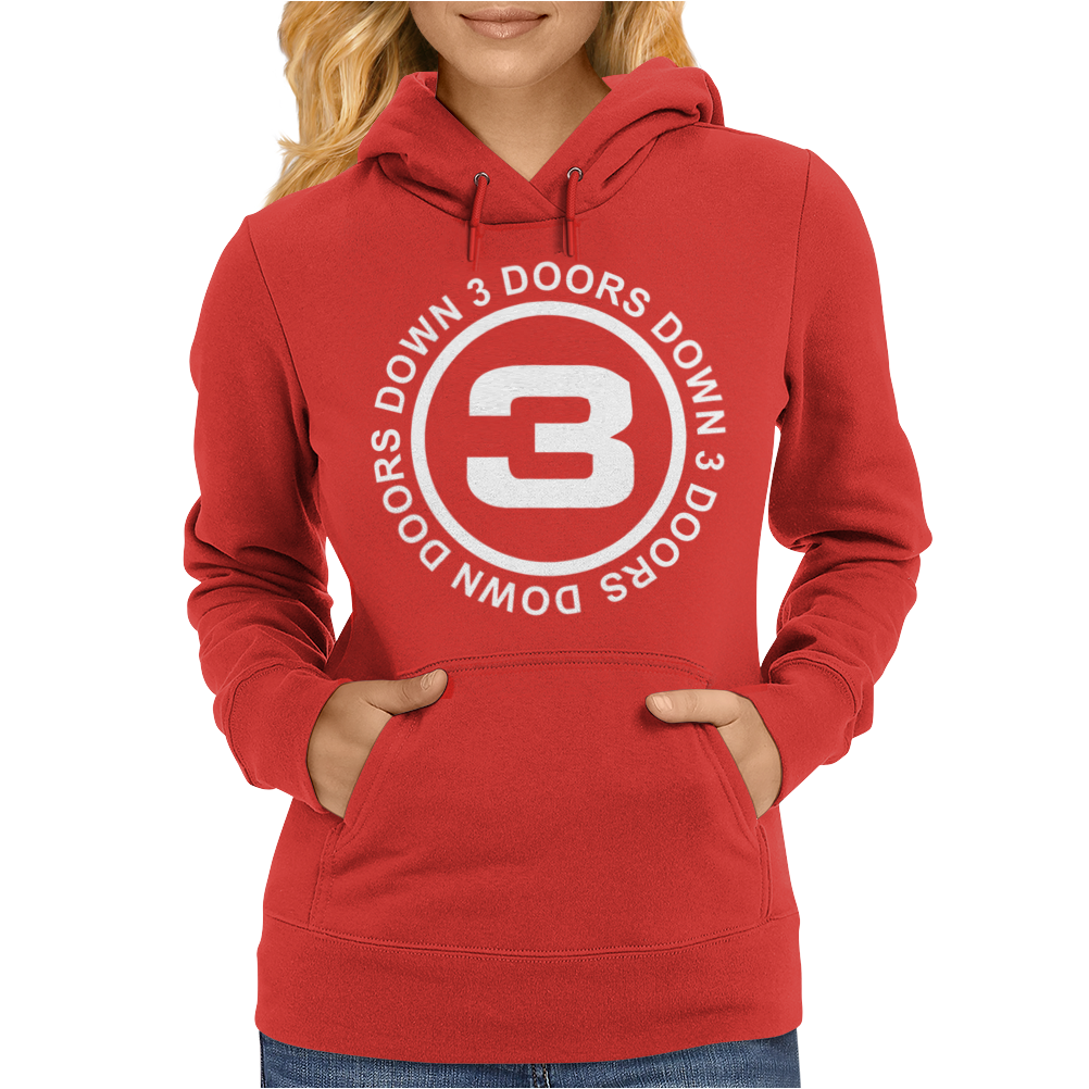 3 Doors Down Rock Womens Hoodie