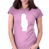 3 Finger Salute Womens Fitted T-Shirt
