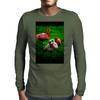 3 Pink Flamingos Mens Long Sleeve T-Shirt