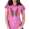 3 Skulls Winged TS Womens Fitted T-Shirt