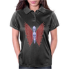 3 Skulls Winged TS Womens Polo