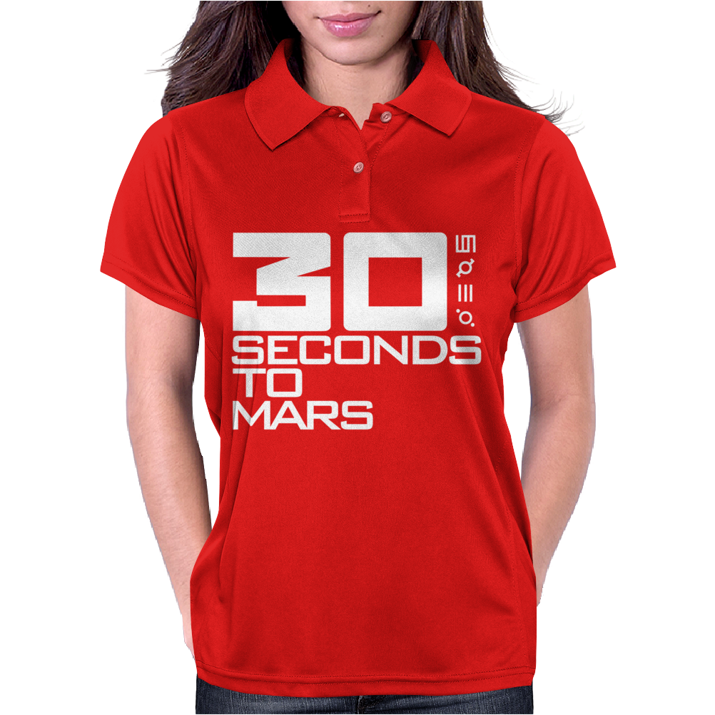 30 Seconds To Mars Womens Polo