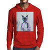 3D catman, Hipster cat style Mens Hoodie