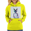 3D catman, Hipster cat style Womens Hoodie