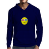 3D Glasses Smiley Mens Hoodie