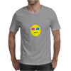 3D Glasses Smiley Mens T-Shirt