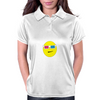 3D Glasses Smiley Womens Polo