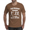 3rd Annual Zombie Run Til The Cure Mens T-Shirt