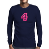 #4 Pink CAMO Mens Long Sleeve T-Shirt