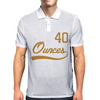 40 Oz. Mens Polo