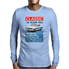 40 Year Old Ford Escort Funny Quote Ideal Birthday Present Mens Long Sleeve T-Shirt