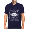 40th Birthday Vintage 1974 Mens Polo