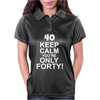 40th Birthday Womens Polo