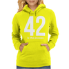 42 Is The Answer Womens Hoodie
