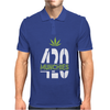 420 Munchies Weed leaf Mens Polo