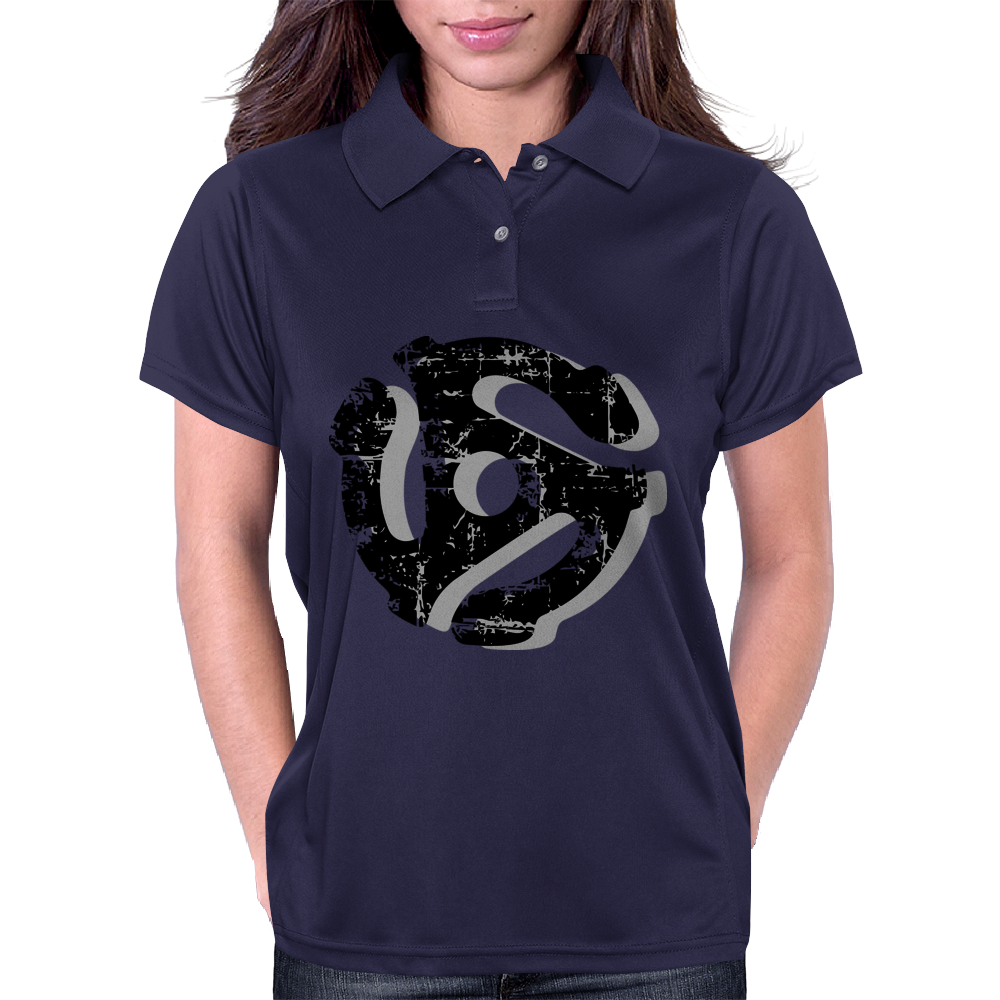 45 rpm Record Adaptor Shadow Womens Polo