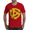 45 RPM Vinyl Record Mens T-Shirt