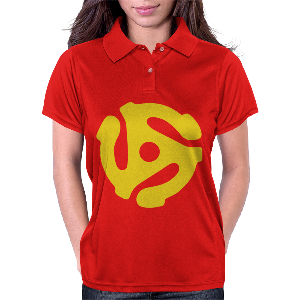 45 RPM Vinyl Record Womens Polo