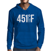 451 A Pleasure To Burn F Mens Hoodie