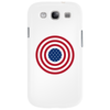 4th July American Flag Circle Phone Case