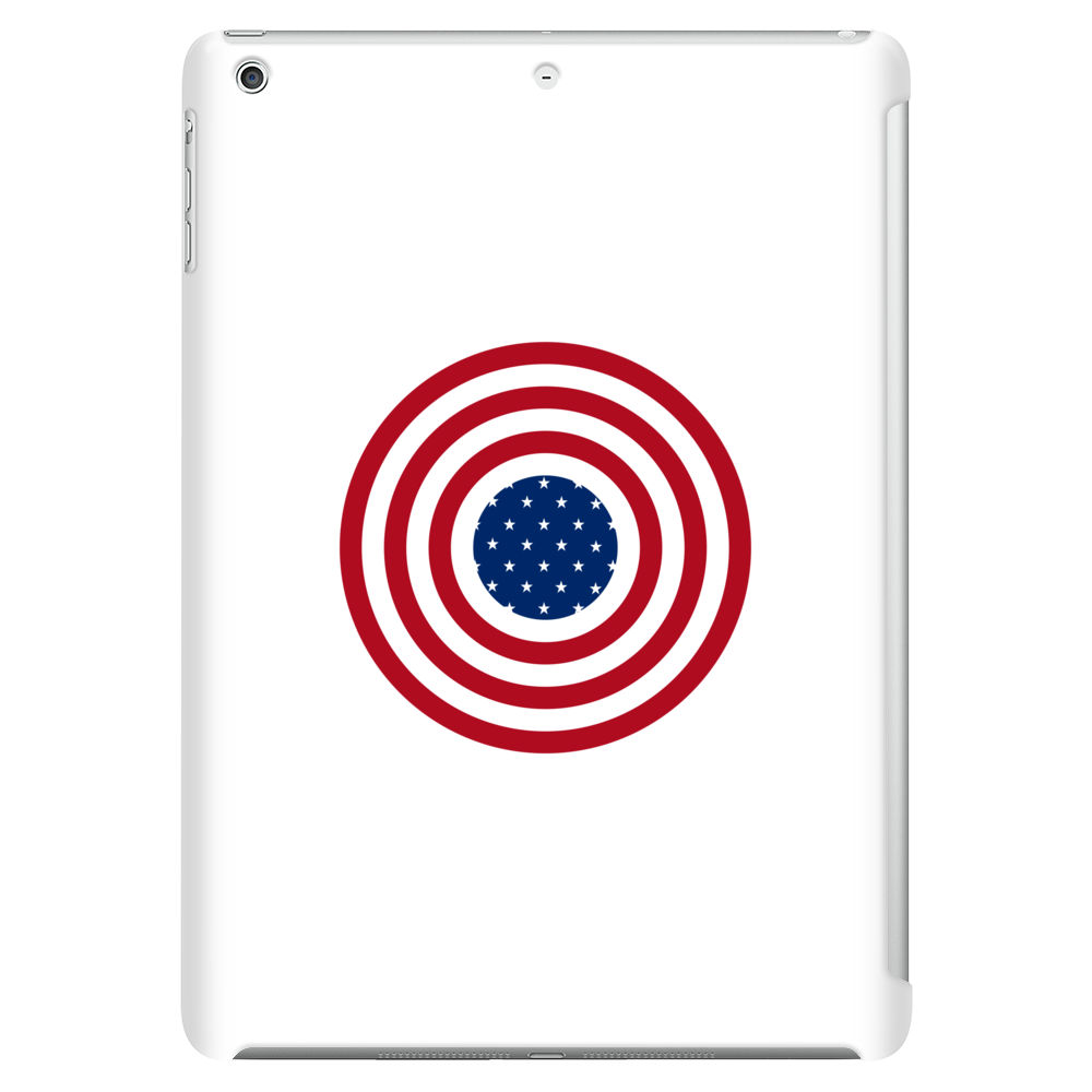 4th July American Flag Circle Tablet