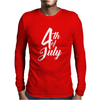 4th July Independence Day Mens Long Sleeve T-Shirt