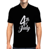 4th July Independence Day Mens Polo