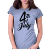 4th of July Celebrate America Womens Fitted T-Shirt