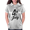 4th of July Celebrate America Womens Polo