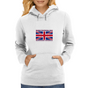 4th of July in England Womens Hoodie