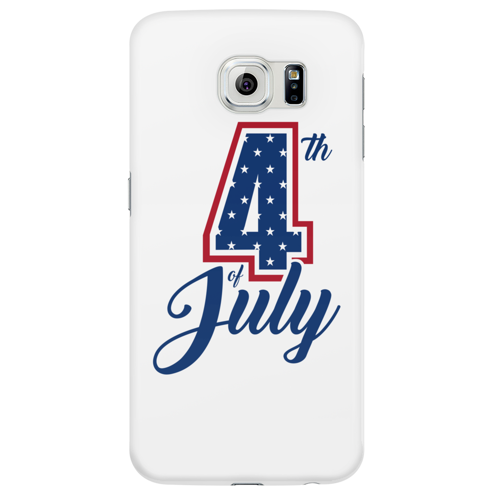 4th of July USA Big 4 Independence Day Phone Case