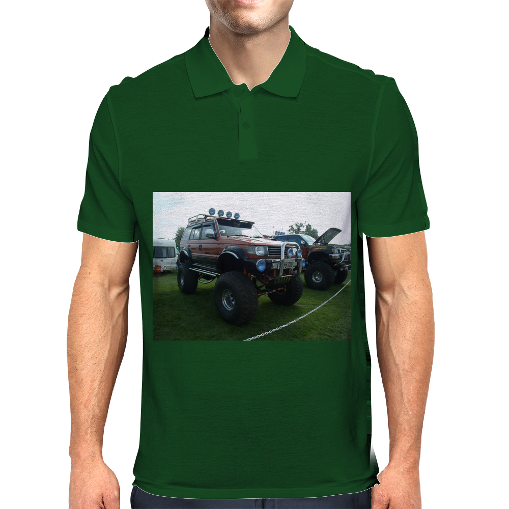 4x4 Truck Festival Car Mens Polo