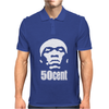 50 Cent Stencil Mens Polo