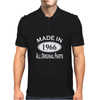 50th Birthday Made in 1966 Mens Polo