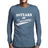 50Years of AWESOME Mens Long Sleeve T-Shirt