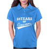 50Years of AWESOME Womens Polo