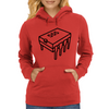 555 Timer Chip (Different Font) Womens Hoodie