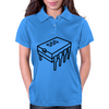 555 Timer Chip (Different Font) Womens Polo