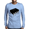 555 Timer Chip (Rendered) Mens Long Sleeve T-Shirt