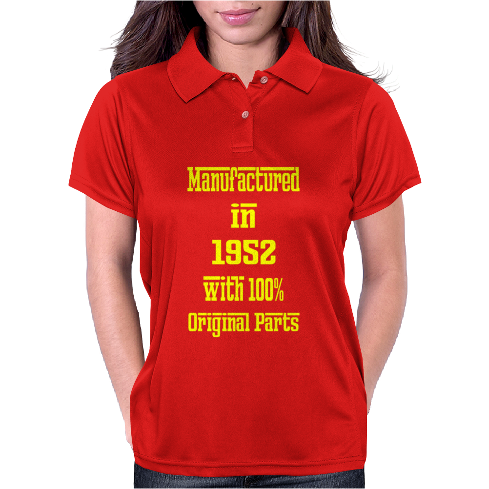 63 Years Old Manufactured in 1952 Womens Polo
