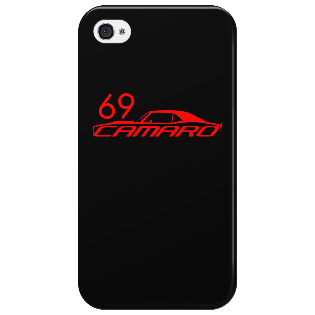 69 Orange Camaro 1969 Phone Case Phone Case
