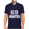 69 Wanted Funny Mens Polo