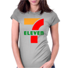 7 Eleven Gas station Awesom Womens Fitted T-Shirt