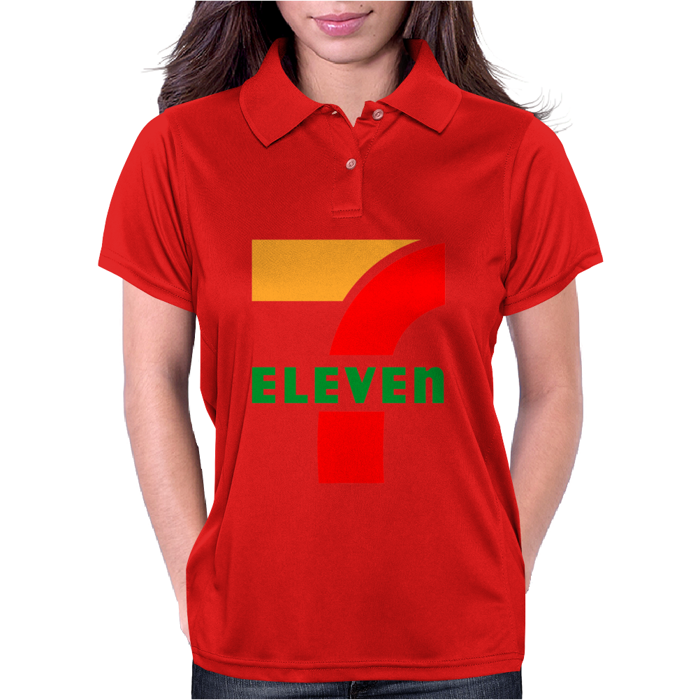 7 Eleven Gas station Awesom Womens Polo